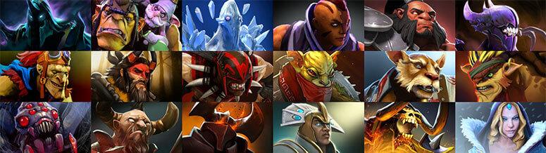 Dota2 Hero Images